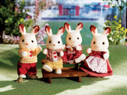 Hopscotch Rabbit Family