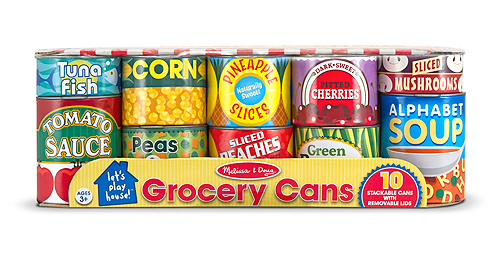Let's Play House Grocery Cans