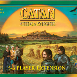 Catan: Cities & Knights 5-6 Player Extension 1