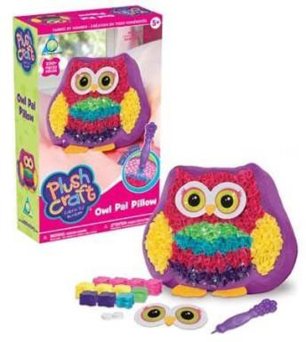 Plush Craft Owl Pal Pillow