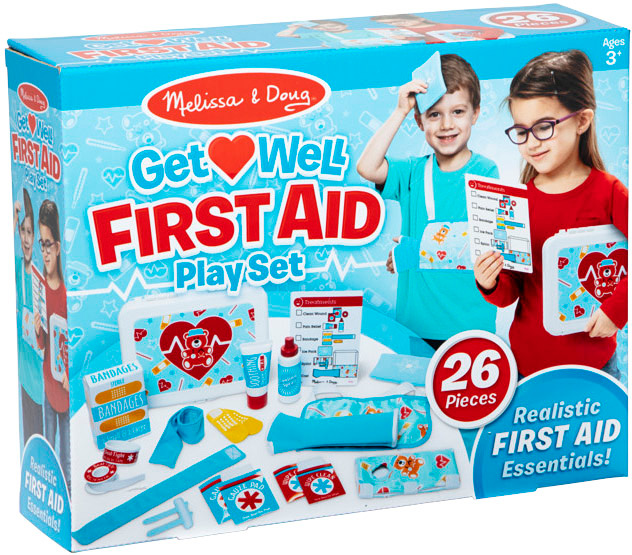 Melissa Doug Get Well First Aid Playset