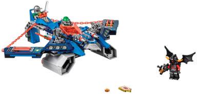LEGO Nexo Knights - Aaron Fox's Aero-Striker V2