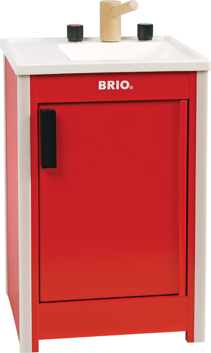 Red Kitchen Sink : ... here home shop home play kitchen schylling brio brio kitchen sink red