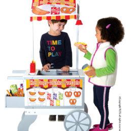 Snacks & Sweet Cart 1
