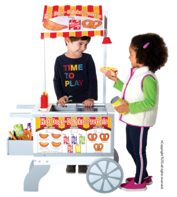 Snacks & Sweet Cart