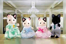 Tuxedo Cat Family