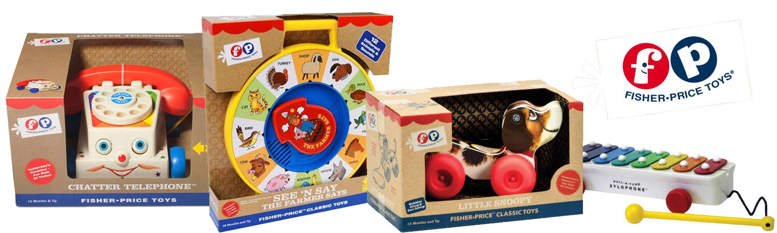 Classic Fisher-Price Toys