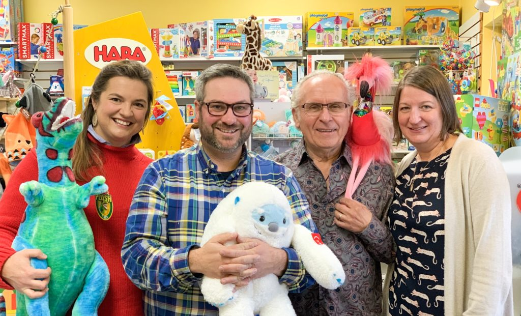 new and founding owners of island treasure toys