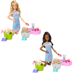barbie play n wash