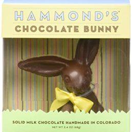 organic chocolate easter bunny